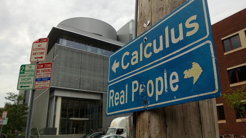 real people versus numbers