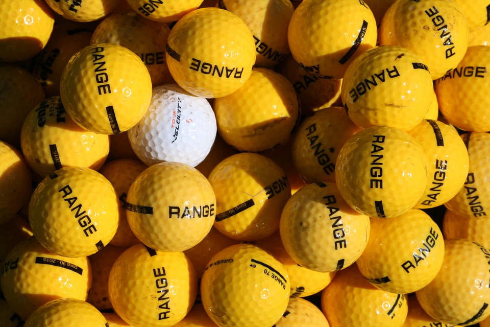 different or unique from crowd golf balls